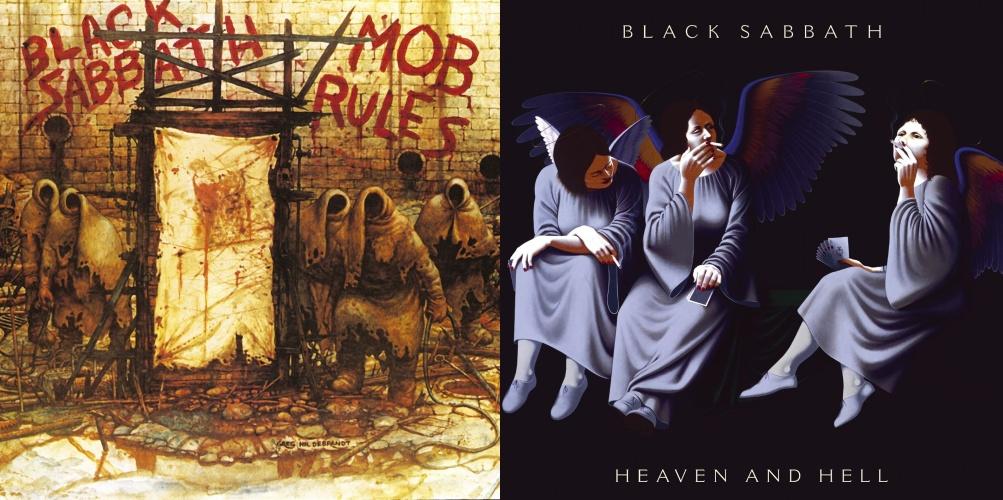 Black Sabbath uudelleenjulkaisee Dion aikaiset albuminsa