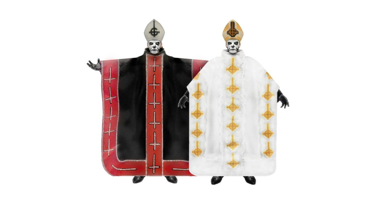 Debyyttialbumin aikainen Ghost-paavi Papa Emeritus I saa oman action-figuurinsa