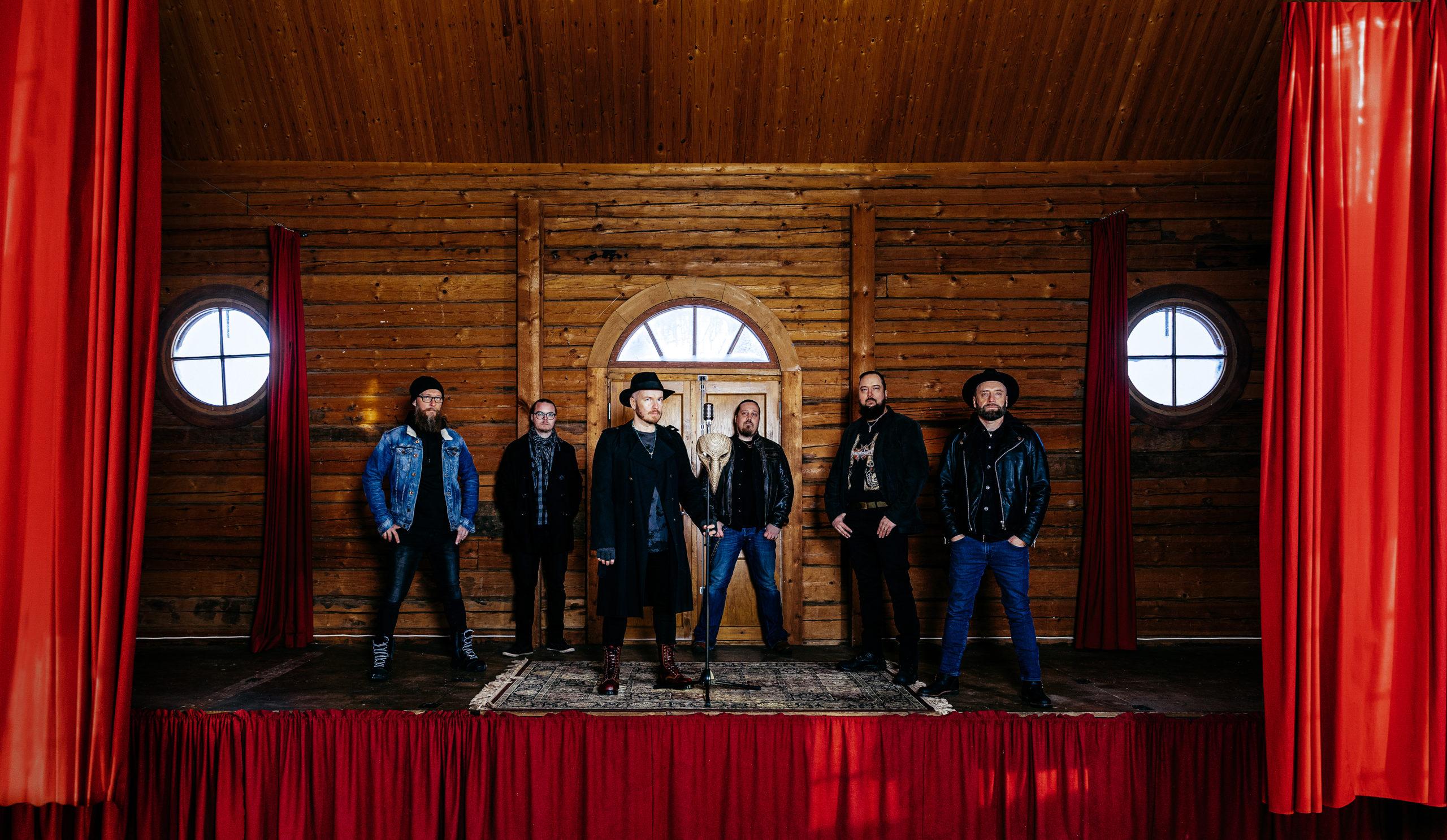 Kotimainen doom rock -yhtye Planeetta 9 julkaisi uuden EP:n ja musiikkivideon