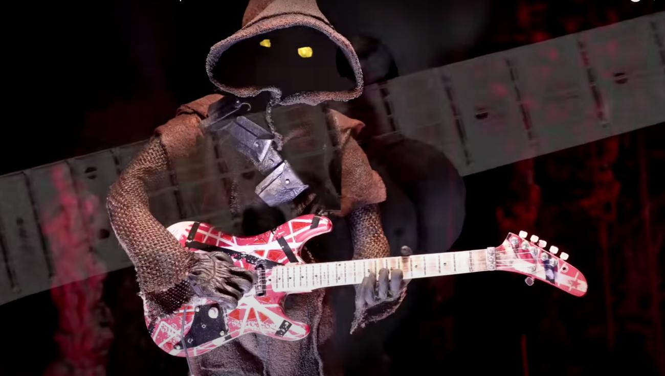 Katso mykistävä Star Wars -aiheinen stop motion -tribuutti Eddie Van Halenille