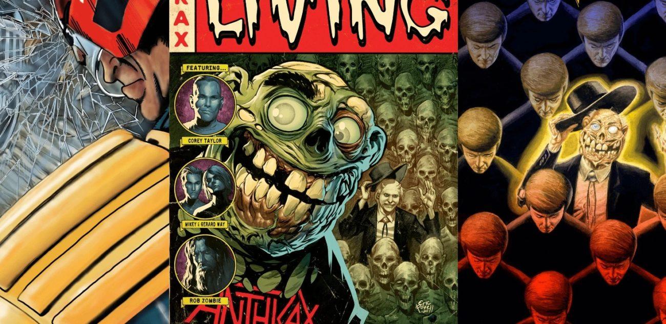 "Anthraxilta ""Among The Living"" -sarjakuvakirja – mukana Corey Taylor ja Rob Zombie"