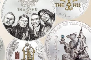 Mongolialainen metalliyhtye The Hu ikuistettiin osaksi Mongolian pankin juhlakolikkoa