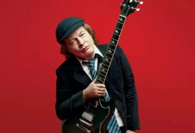 """AC/DC:n Angus Young bändin ainutlaatuisesta soundista: """"Halusimme luoda oman standardimme ja soundimme ja tyylimme"""""""