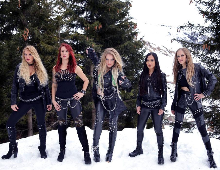Burning Witches esittelee tuoretta albumiaan levynjulkaisukeikalla ensi viikolla