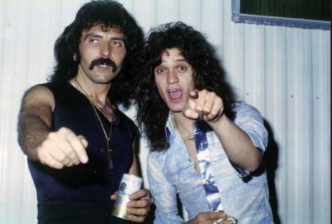 "Tony Iommi muistelee Eddie Van Halenia – ""Rupattelimme yleensä koko yön"""