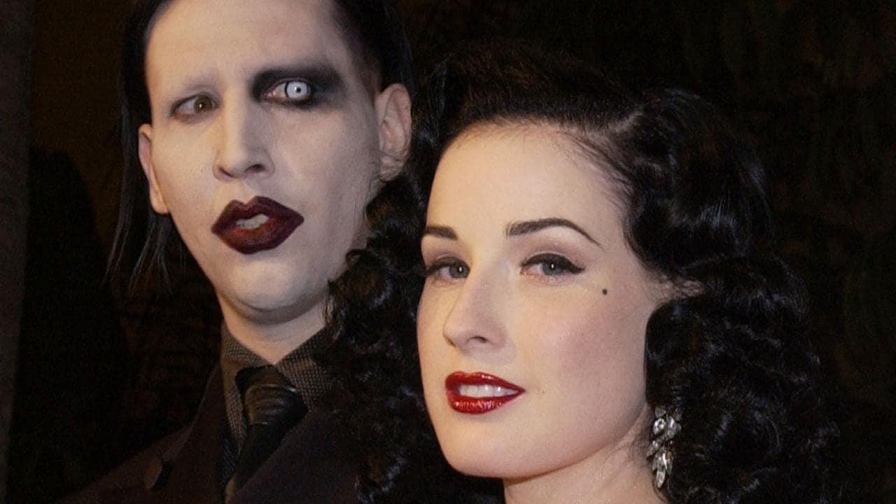 """Dita Von Teese: """"Syytökset Marilyn Mansonia kohtaan eivät täsmää omiin kokemuksiini"""""""