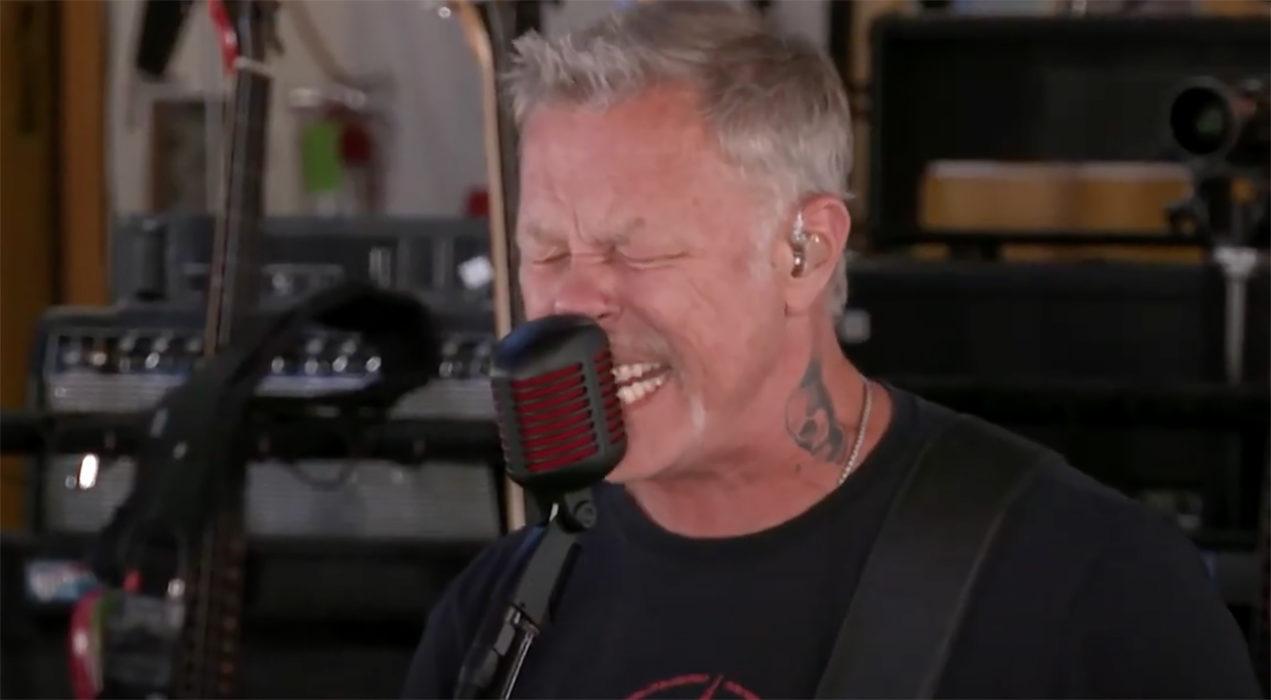 Metallica soitti oman kappaleensa livelähetyksessä: Twitch mykisti bändin tekijänoikeuksien vuoksi