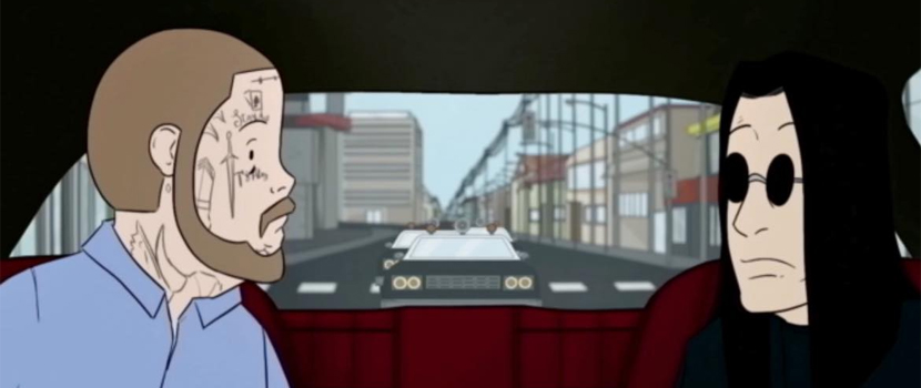 """Ozzy Osbourne julkaisi animoidun videon yhteistyössä Post Malonen kanssa tehdystä """"It's A Raid"""" -kappaleesta"""