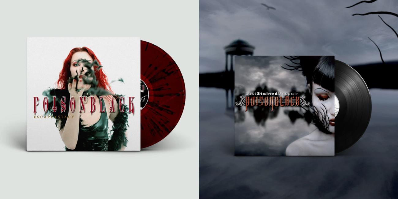 """Poisonblack painaa ensimmäiset vinyylit """"Escapexstacy""""- ja """"Lust Stained Despair"""" -albumeistaan"""