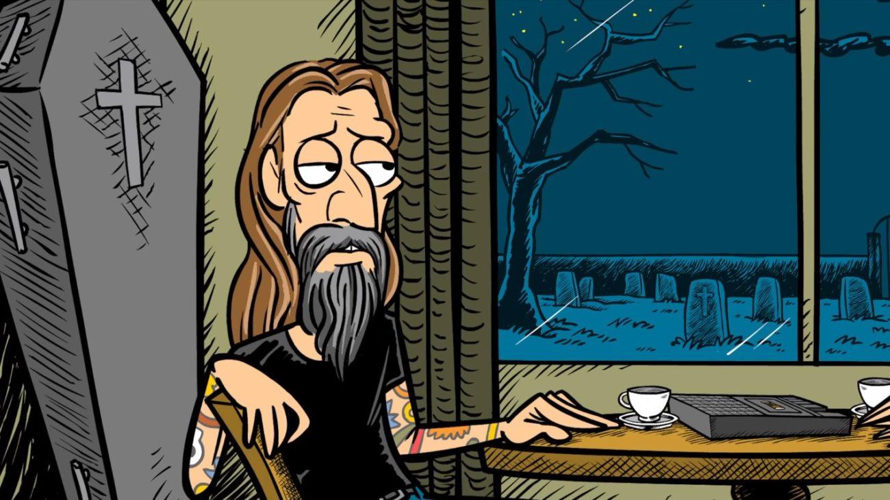 Rob Zombielta animaatiosarja tulevaan albumiin liittyen: ensimmäinen osa katsottavissa