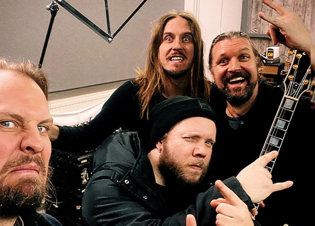 Amorphis aloitti neljännentoista albuminsa äänitykset