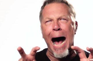 Jokainen Metallica-albumille päätynyt James Hetfieldin nauru samassa videossa