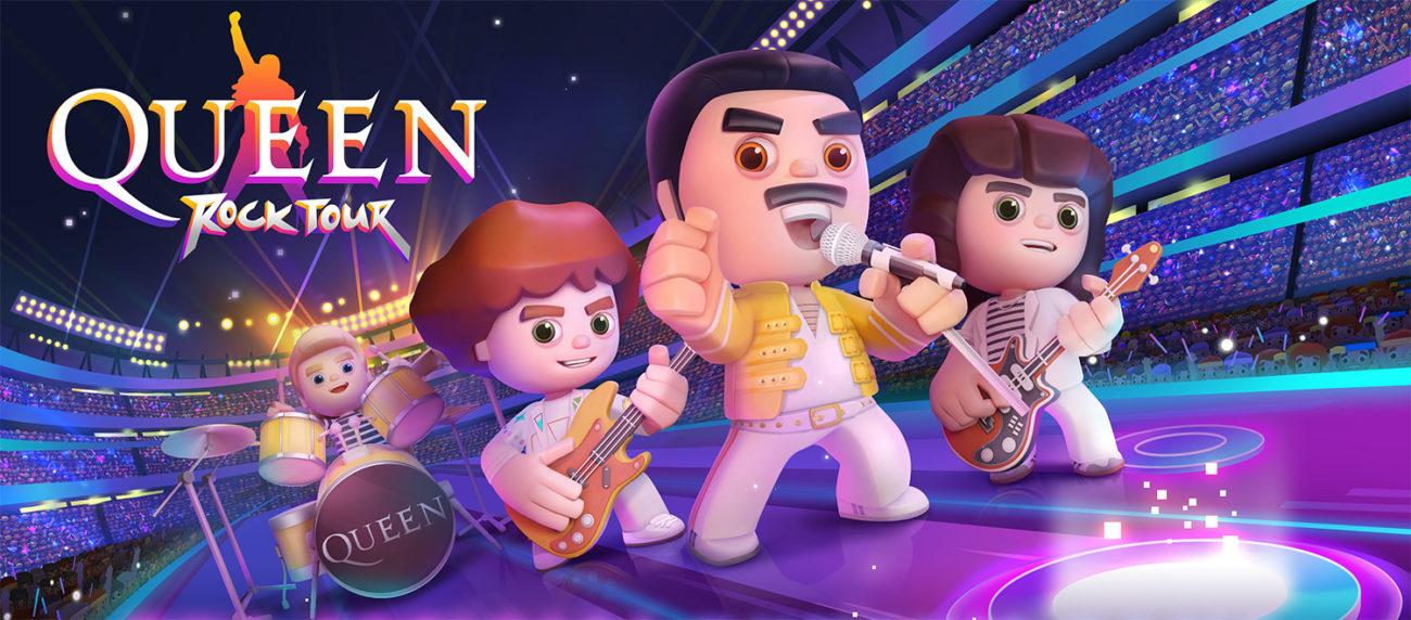 """Queen lanseerasi oman mobiilipelin: """"Rock Tour"""" vetoaa varmasti sekä vanhoihin että nuoriin faneihin"""