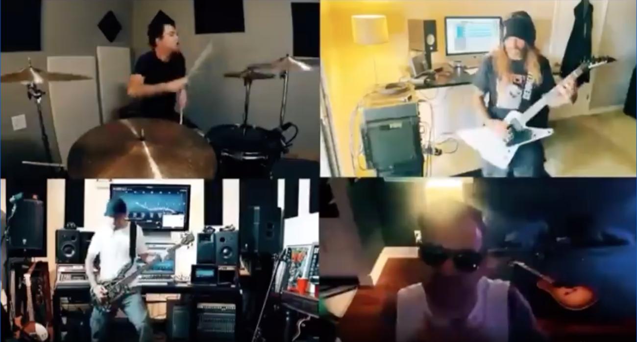System Of A Down- ja Vio-Lence -muusikot coveroivat yhdessä Stone Temple Pilotsia