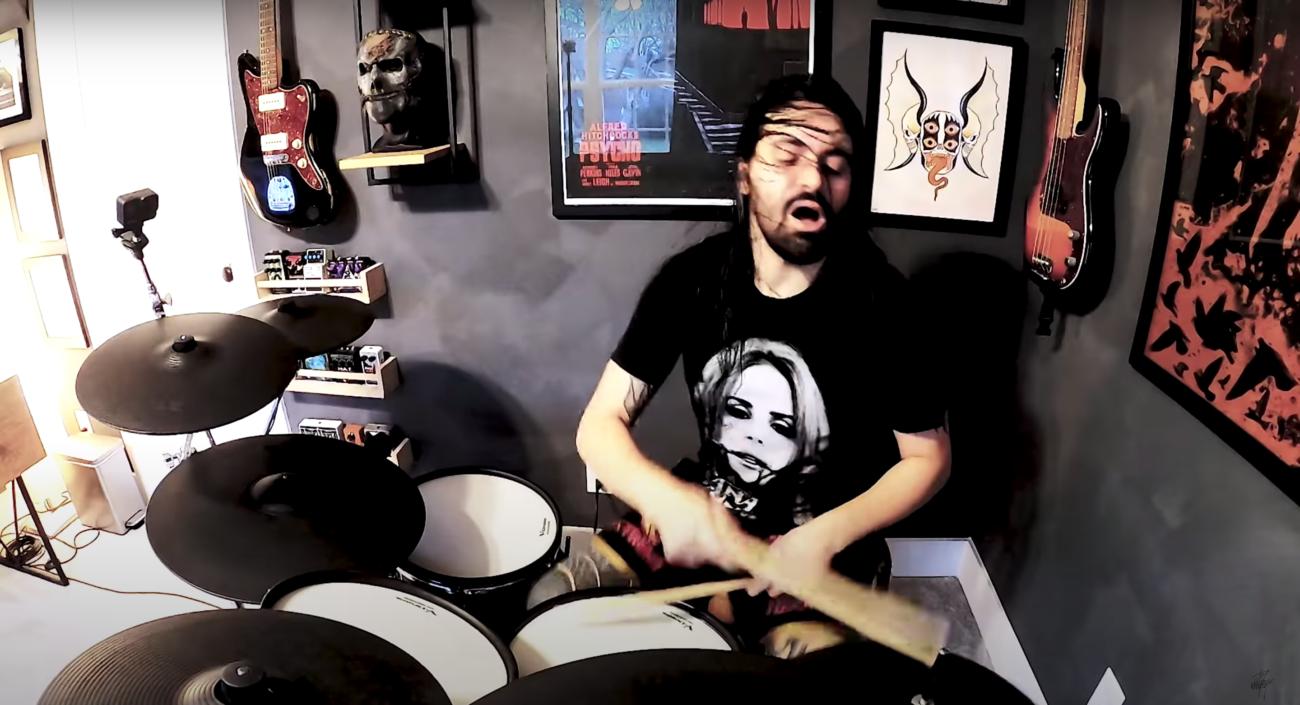 "Näin taittuu Slipknot-rumpali Jay Weinbergiltä Code Orangen ""You And You Alone"""