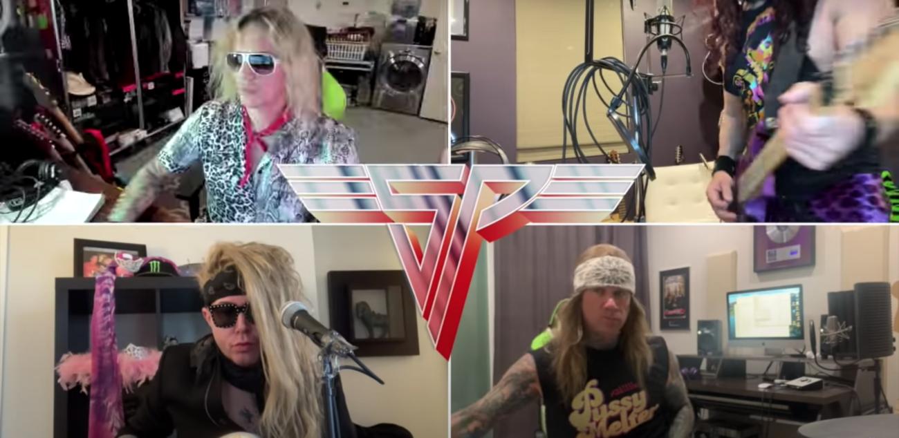 "Steel Panther coveroi Van Halen -klassikot ""D.O.A."" ja ""Beautiful Girls"""