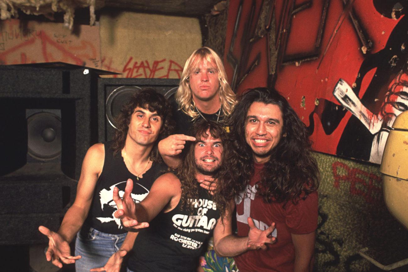 """Dave Lombardo muistelee ajaneensa Slayerin ulos tieltä: """"Tässä tämä nyt oli"""""""