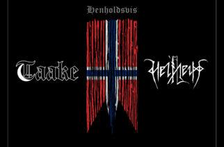 """Norjalaiset Taake ja Helheim yhteisjulkaisulla – arviossa 10″ """"Henholdsvis"""""""