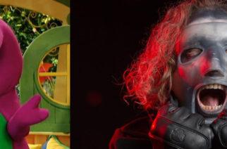 Tältä kuulostaa kun Slipknotin musiikki yhdistetään Barney ja ystävät -lastenohjelman tunnuskappaleeseen