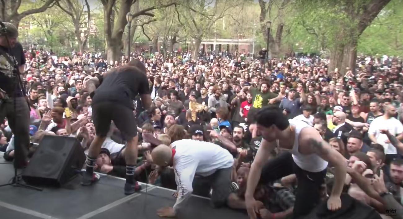 New Yorkin puistohardcore-festari houkutteli paikalle lähes 3000 katsojaa