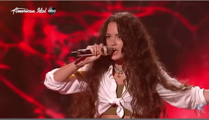"""Katso 16 vuotiaan Casey Bishopin upea tulkinta Soundgardenin """"Black Hole Sun"""" -kappaleesta American Idolissa"""