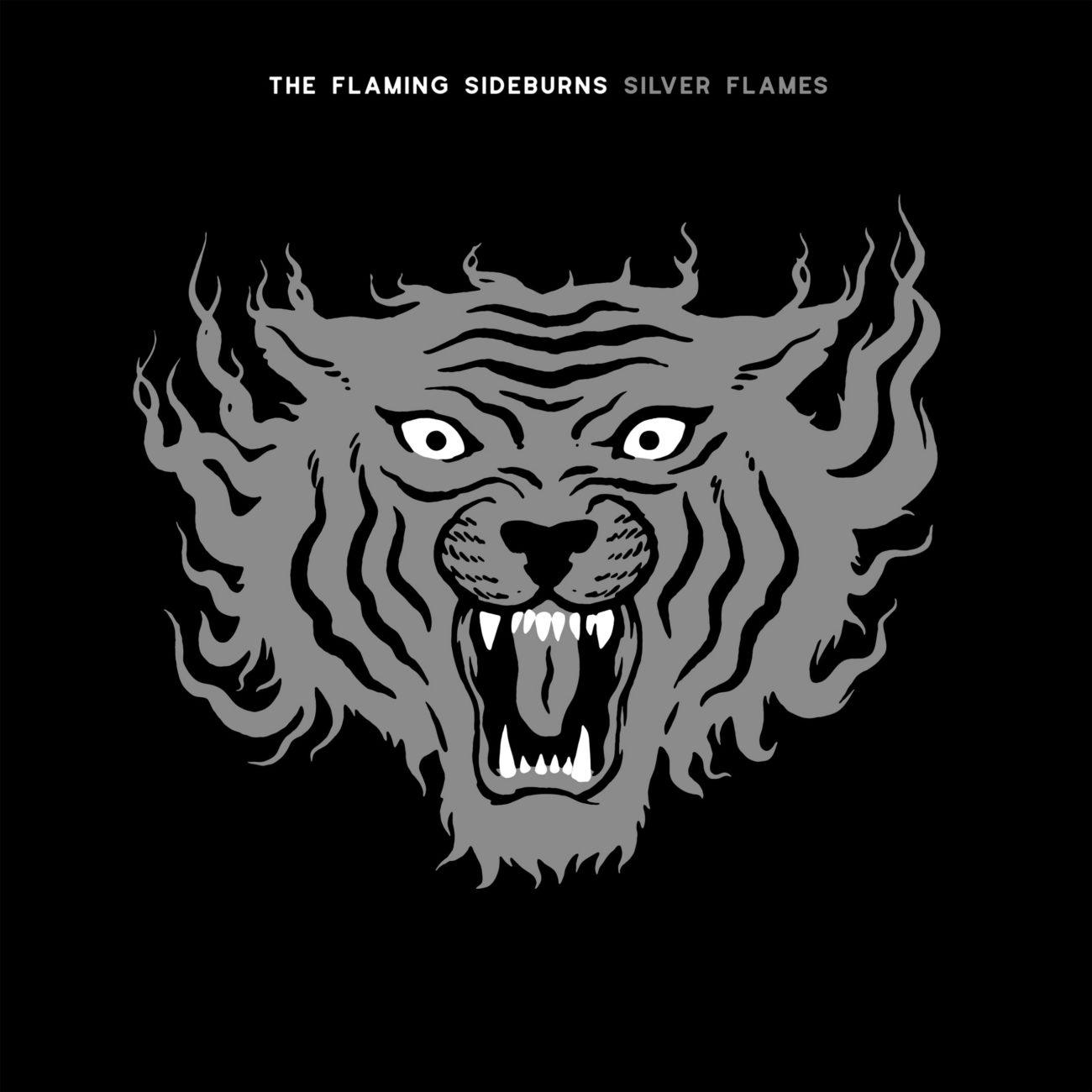Hopeaturkkiset hyeenat eivät hyydy – arviossa The Flaming Sideburnsin Silver Flames