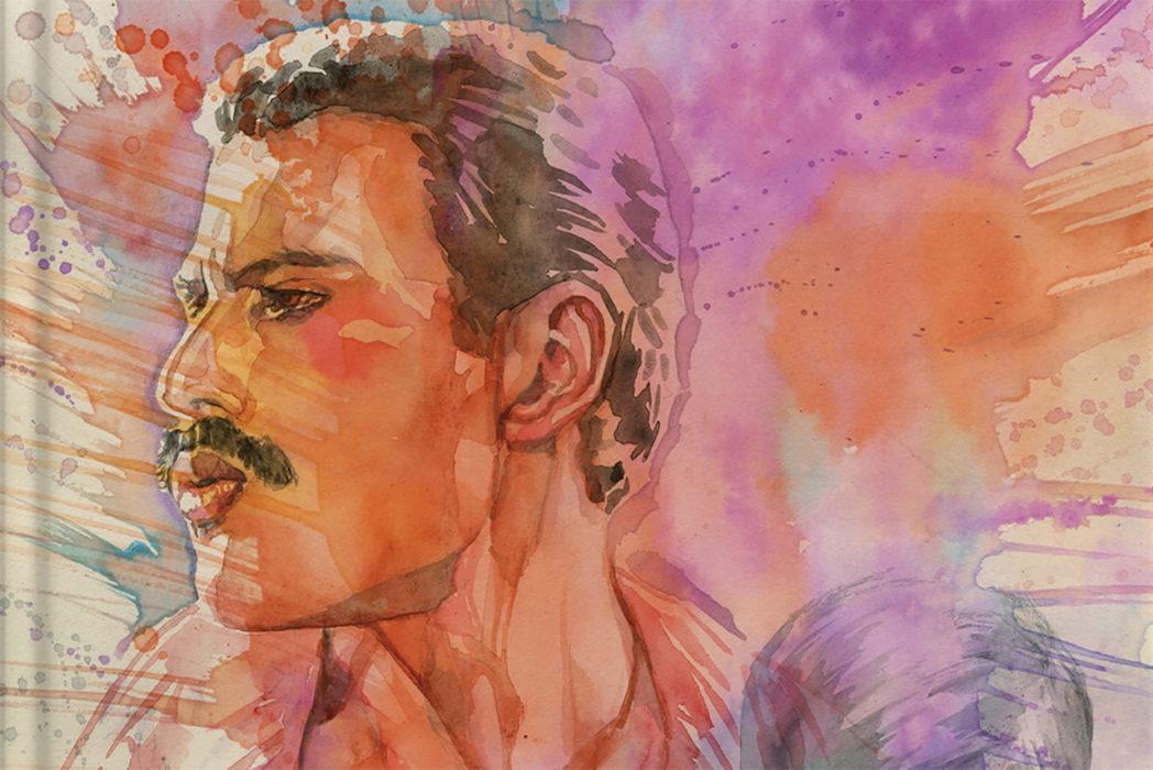 Z2 Comics julkaisee sarjakuvaromaanin Queenin Freddie Mercurysta