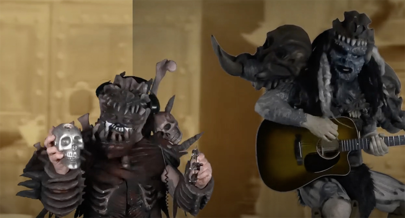 """Gwar julkaisi """"I'll Be Your Monster"""" -kappaleestaan akustisen version musiikkivideon kera"""