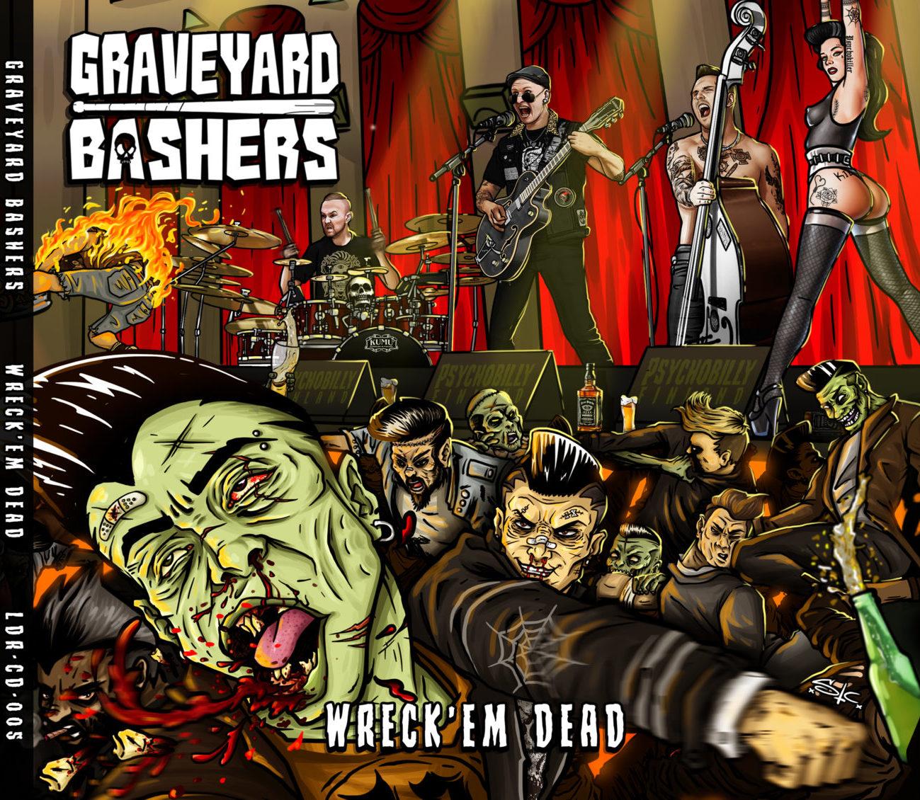 Painajainen, jonka ei toivoisi loppuvan: Arvostelussa Graveyard Bashersin Wreck Em Dead