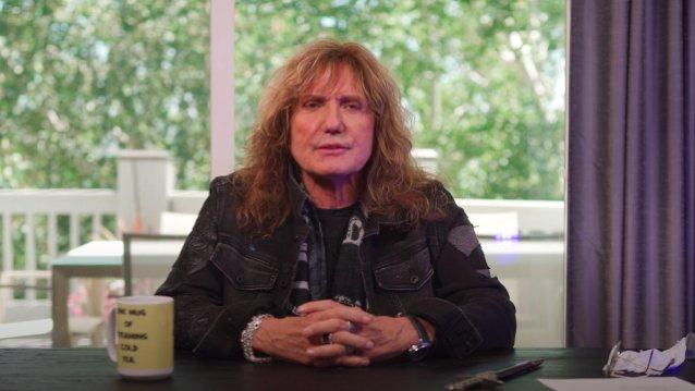 Whitesnaken David Coverdale toivoo pääsevänsä aloittamaan yhtyeen jäähyväiskiertueen vuonna 2022