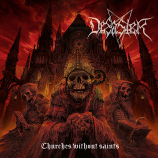 """Albumin lopputulos ei tyydytä suuria odotuksia – arviossa saksalaisen Desasterin """"Churches Without Saints"""""""