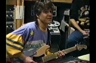 """Aikaisemmin julkaisematon video näyttää, kuinka Eddie Van Halen soitti """"Amsterdam""""-kappaleen riffiä vuosia ennen kappaleen ilmestymistä"""
