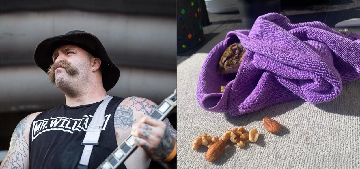 Every Time I Die -kitaristi Andy Williams pelasti maaoravan hukkumiselta