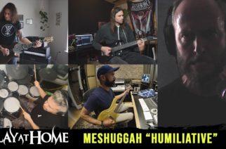 Modernin metallin tekijämiehet versioimassa Meshuggahia: mukana Peripheryn, Tesseractin, Car Bombin, Intronautin sekä Incubuksen jäseniä