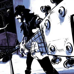 Motörhead taipui sarjakuvaromaaniksi: bändin ja Lemmy Kilmisterin tarina julkaistaan 144-sivuisena sarjakuvana syyskuussa