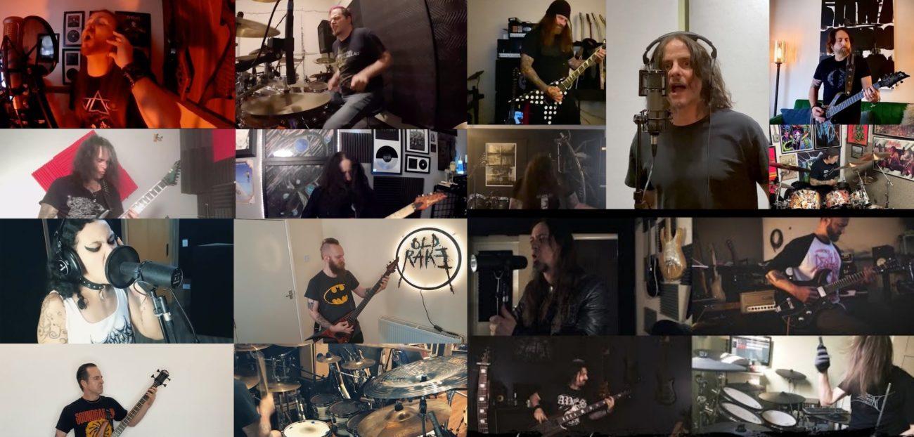 Thrash-kentän parhaimmisto coveroi Slayeria, Sepulturaa ja Strapping Young Ladia osana Slay At Home -festivaalia