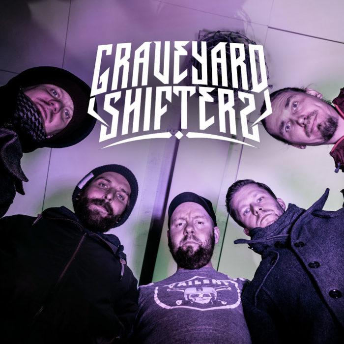 Keravalaiselta Graveyard Shifters -räyhäryhmältä EP elokuussa – katso video