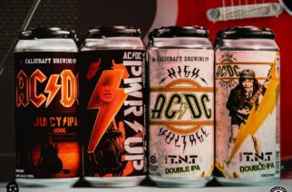 Kippis! Kalifornialaispanimo lanseeraa kaksi erilaista AC/DC-olutta