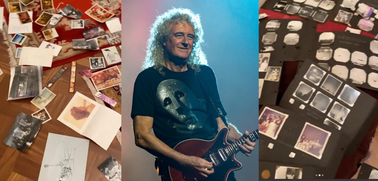 """Tulva tuhosi Brian Mayn kodin: """"Valtava osa menneisyyttäni on pyyhitty pois"""""""