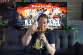 """Ensiferumin Sami Hinkka: """"Seuraava albumi on jo työn alla!"""""""