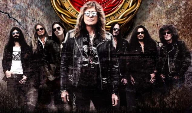 Whitesnake jäähyväiskiertueellaan Suomeen kesäkuussa