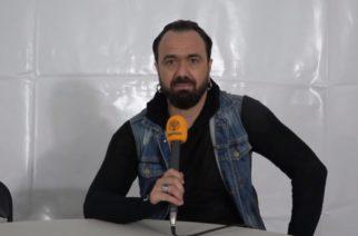 """Chaoszine tapasi Moonspellin Fernando Ribeiron Dark River Festivalissa: """"Olen vain äärettömän onnellinen, että pääsimme tänne soittamaan suomalaisille faneillemme"""""""