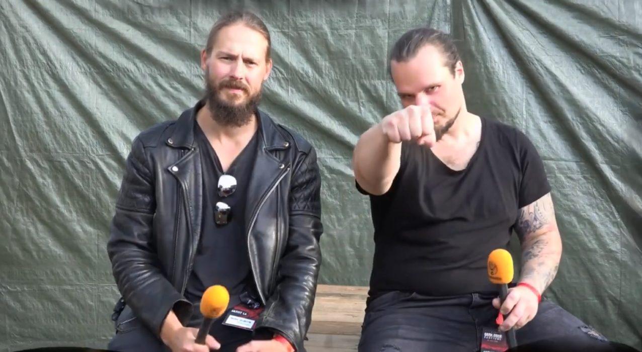 """Kaaoszine tapasi Mors Subitan Dark River Festivalissa: """"Tulevan levyn materiaali alkaa sävellyksen puolelta näyttämään jo hyvältä"""""""