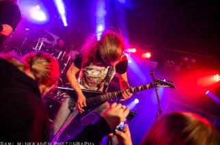 Extreme metalin ilotulitusta Turun Apollossa – katso kuvat Metal.Fucking.Hellin perjantailta