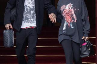 Taas mennään: Kourtney Kardashianilla oli yllään Cannibal Corpsen paita, ja keskusteluahan siitä syntyi