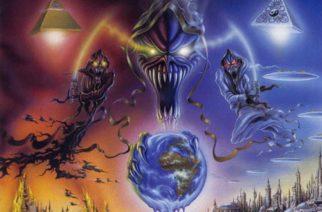 """Gamma Rayn 20-vuotias """"No World Order!"""" on vielä tänäkin päivänä toimiva ja viihdyttävä voimametallikiekko"""