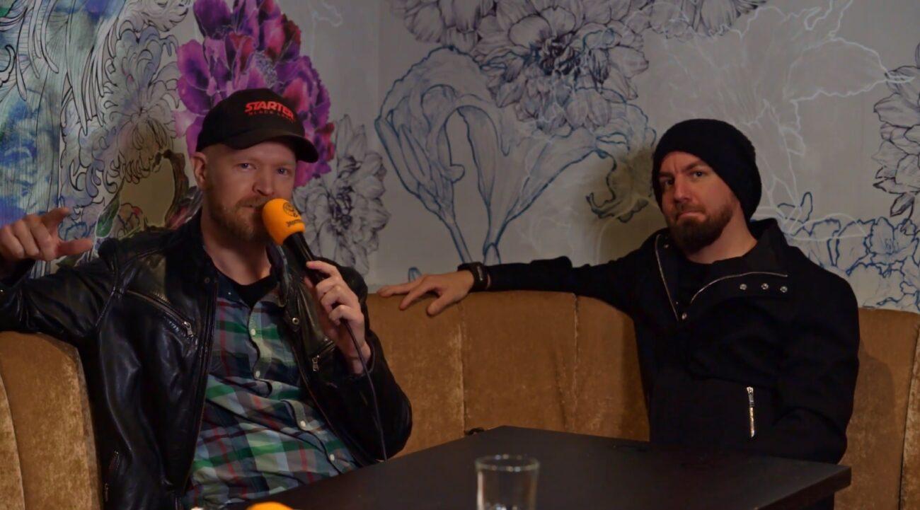 """Bloodred Hourglass Kaaoszinen videohaastattelussa: """"Mikkelin Black Boxissa on luvassa yhtyeemme uran suurin keikka produktion osalta"""""""