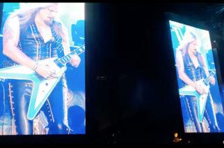 """Katso video Judas Priestin Richie Faulknerista soittamassa """"Painkiller"""" -klassikkoa vain hetkeä ennen aortan repeämistä ja sairaalaan joutumista"""